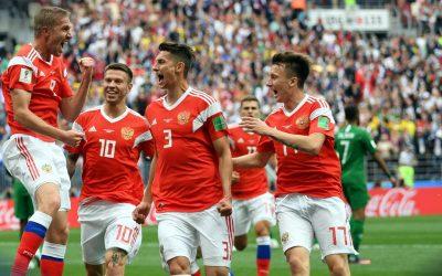 Rússia 5 x 0 Arábia, a 2ª maior goleada da história na abertura do Mundial