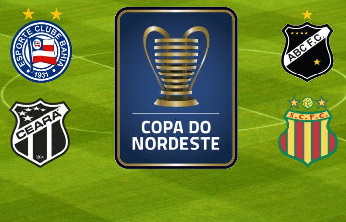 Semifinais da Copa do Nordeste 2018 com a Copa do Mundo na 'preliminar'