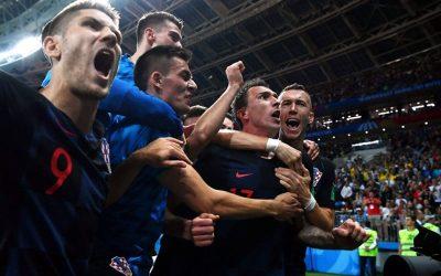 Em sua 3ª prorrogação, Croácia vence a Inglaterra e alcança final inédita