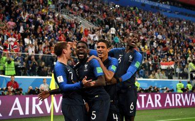 França vence a Bélgica e chega à 3ª final nas últimas 6 Copas. Vai pelo bi
