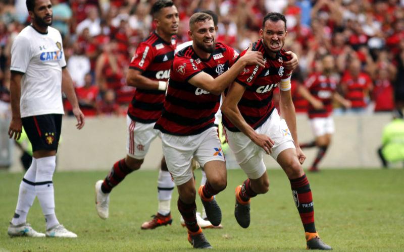 Inofensivo, o Sport é goleado pelo Flamengo e soma 4 derrotas seguidas