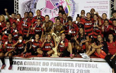 Sport vence o Vitória e leva Nordestão Feminino com 10 partidas em 10 dias