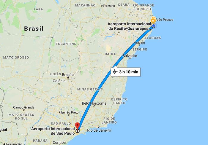 O motivo para a exclusão da Arena PE na Copa América de 2019: tempo de voo