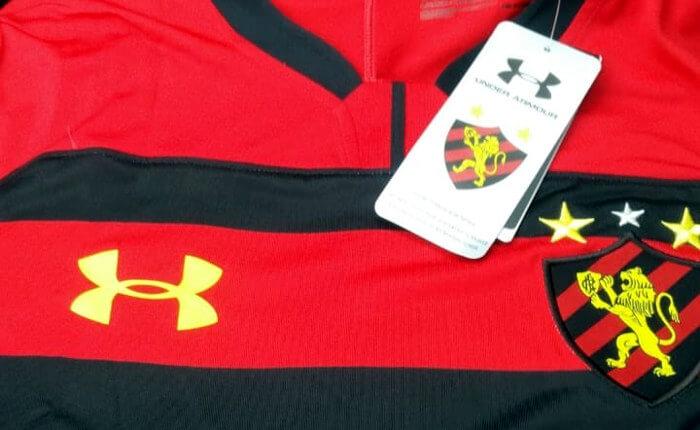 O 1º uniforme do Sport via Under Armour para a temporada 2018/2019