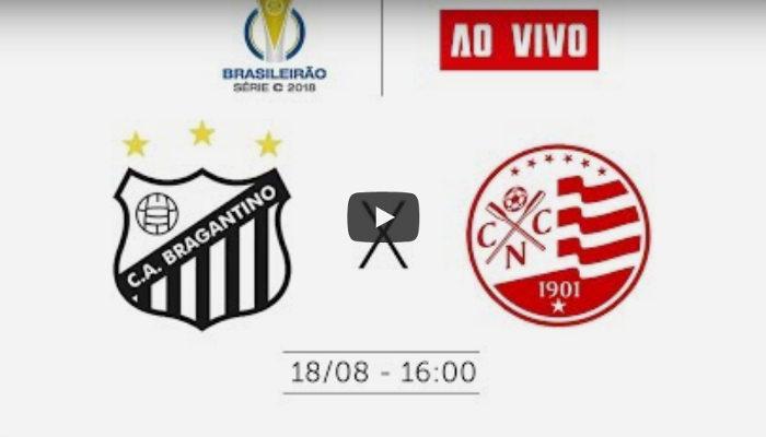 Ao vivo – Transmissão de Bragantino x Náutico via CBF TV