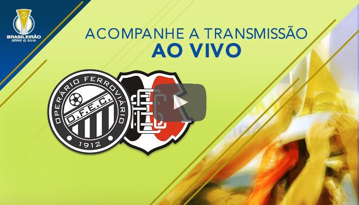 Ao vivo – Transmissão de Operário-PR x Santa Cruz via CBF TV