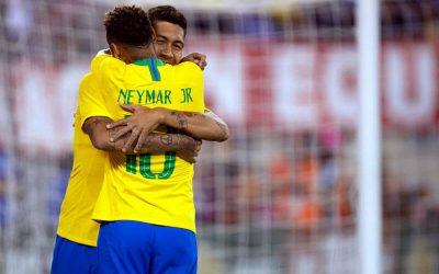 Em 1º amistoso pós-Copa, Brasil vence os Estados Unidos em Nova Jersey