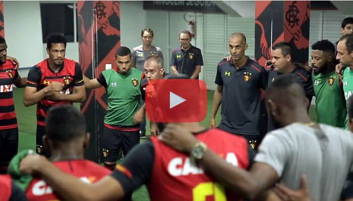 Vídeo – Os bastidores de Sport 1 x 0 Paraná, pelo Brasileirão de 2018