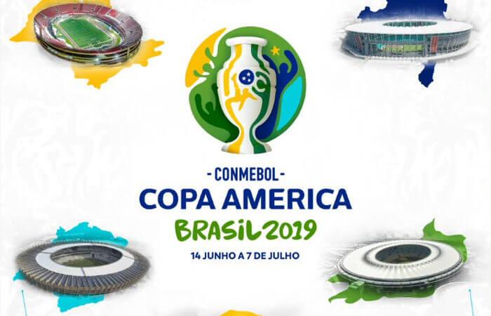 Os estádios da Copa América 2019, com início no Morumbi e fim no Maracanã