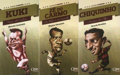 Literatura esportiva de Pernambuco ganha coleção de 9 livros com perfis