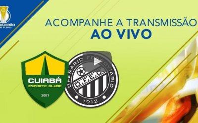 Ao vivo   Transmissão de Cuiabá x Operário, a final da Série C, via CBF TV