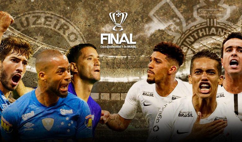 R$ 30 milhões em jogo na decisão da Copa do Brasil 2018 entre Cruzeiro e Corinthians. É a maior cota possível