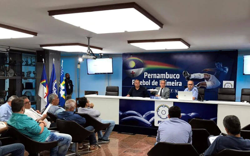 Com 10 clubes, o Pernambucano 2019 terá turno com 8 classificados e 2 rebaixados