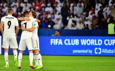 Sem aperreio, Real Madrid goleia o Al Ain e conquista o 7º título mundial
