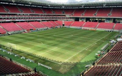 Arena Pernambuco, o palco da 70ª decisão do Estadual. Na final de 2018, recorde de público