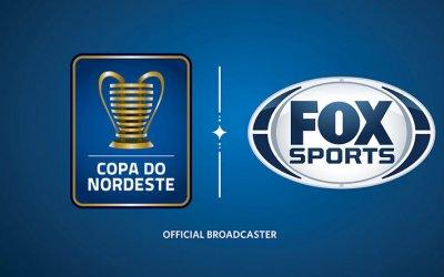 Copa do Nordeste garante exibição na TV fechada. Canal? Fox Sports, até 2021