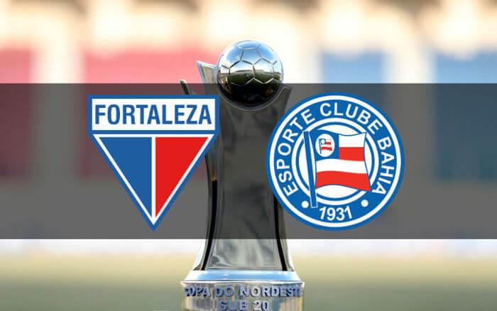Fortaleza x Bahia, a final nordestina do Sub 20. Valendo o 1º título oficial e o bi