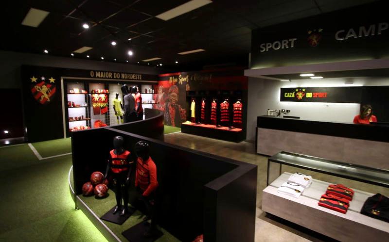 A nova versão da Cazá do Sport, a loja oficial de 500 m² na Ilha do Retiro