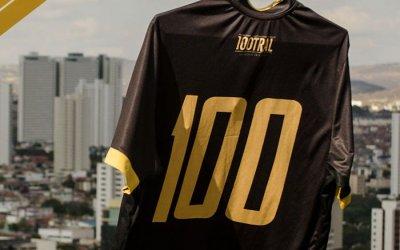 O uniforme especial do Central para celebrar o centenário em 2019