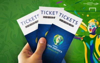 Ingressos da Copa América 2019 de R$ 60 a R$ 890, em 6 estádios do Brasil
