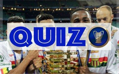 Quiz sobre a Copa do Nordeste