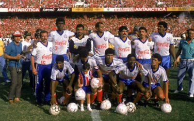 10 curiosidades sobre o segundo título brasileiro do Bahia, em 1988