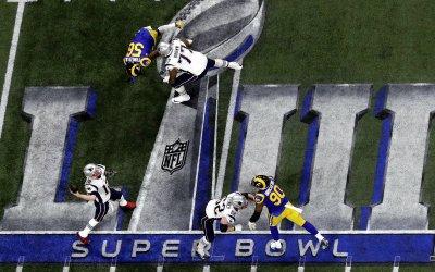 No hexa do Patriots, a pior audiência do Super Bowl nos EUA em 10 anos