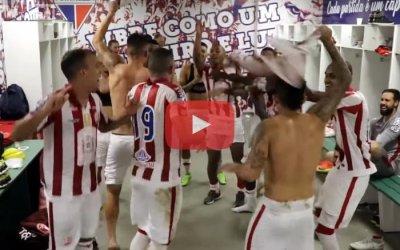 Vídeo | Os bastidores da classificação do Náutico à semifinal do Nordestão