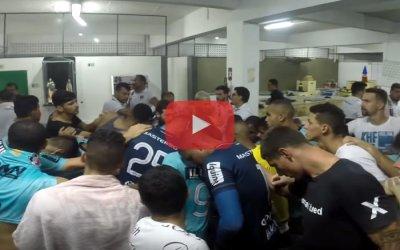 Vídeo | Os bastidores da classificação do Santa à semifinal do Nordestão