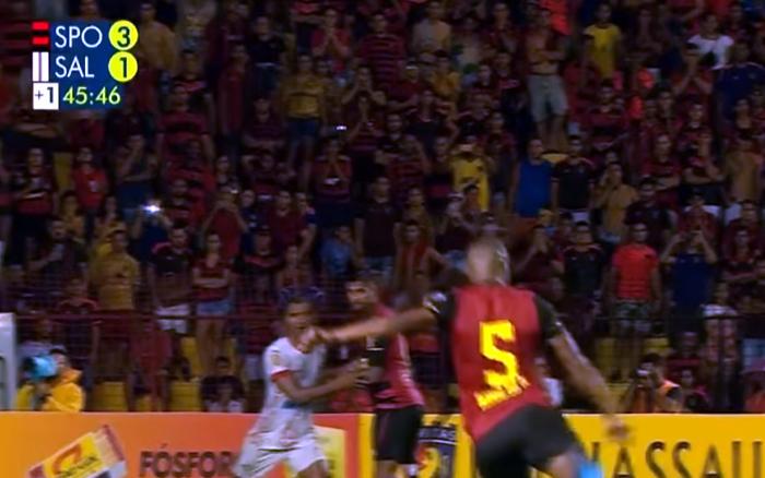TV | Audiência do futebol na Globo em 07/04, com Sport x Salgueiro em 4º no país