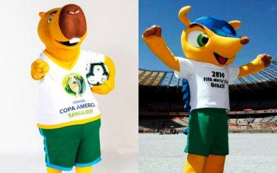 Capivara vira mascote da Copa América de 2019. Zizito ou Capibi? Ou Fuleco…?