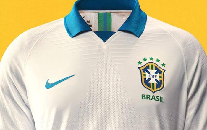 Seleção Brasileira adota uniforme branco na Copa América de 2019. Tem história