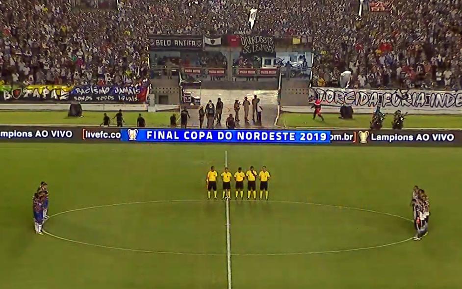 Ao vivo | Transmissão de Botafogo x Fortaleza, a decisão do Nordestão, via Youtube