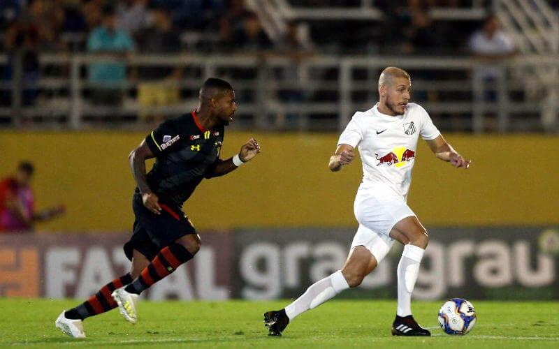 Em boa partida, Sport e (Red Bull) Bragantino empatam no interior de SP