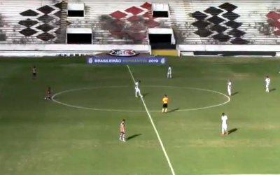 Ao vivo | Transmissão de Santa Cruz x Ceará, nos Aspirantes, via FPF TV