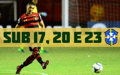Adryelson, do Sport, o 1º de Pernambuco convocado em 3 categorias da Seleção