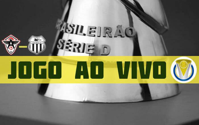Ao vivo | Transmissão de Atlético-CE x Central, pela Série D, via FCF TV