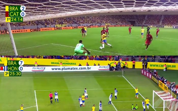 TV | As audiências dos amistosos da Seleção Brasileira contra Catar e Honduras
