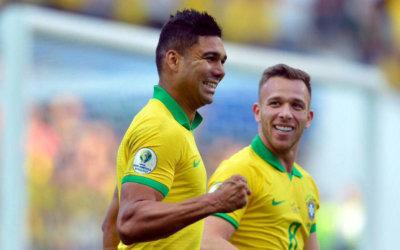 Brasil joga bem, goleia Peru em SP e avança como líder na Copa América
