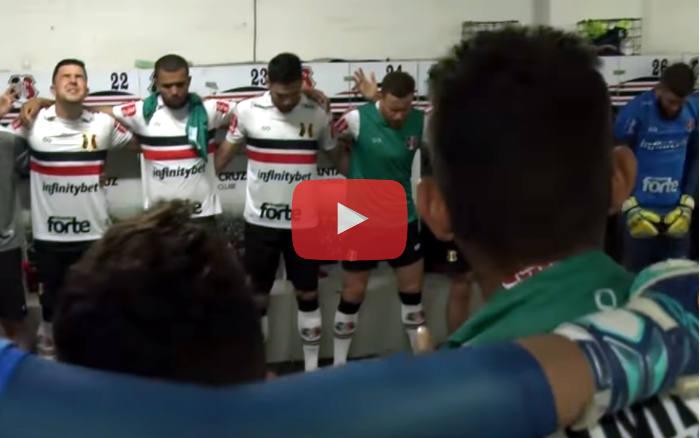 Vídeo | Os bastidores de Santa Cruz 1 x 0 Náutico, pela Série C de 2019