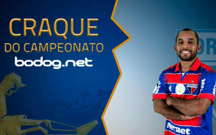 Edinho, o melhor jogador da Copa do Nordeste 2019. Gigante com 1,58 metro