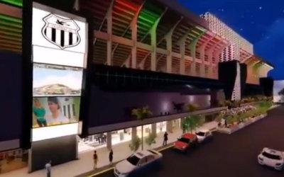 O projeto do Central para revitalizar o estádio Lacerdão. No 3D, ousado