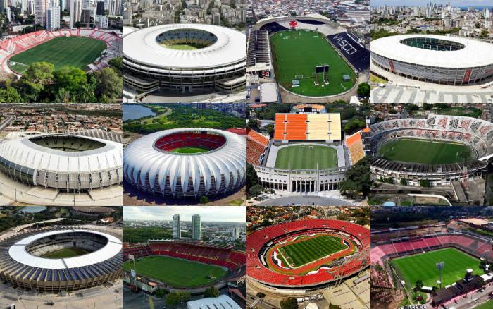 Ranking | Os maiores artilheiros dos principais estádios brasileiros
