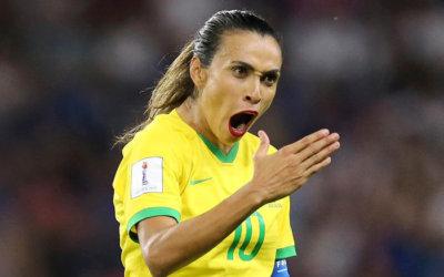 35 milhões   Brasil x França registra recorde de audiência na TV na Copa Feminina