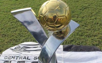 Central enfim ergue o troféu da Série B de 1986. Ainda sem aval da CBF