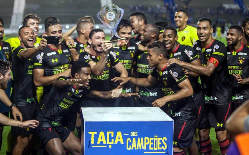 Sport reage no Rei Pelé, empata com o CSA e leva a amistosa Taça dos Campeões