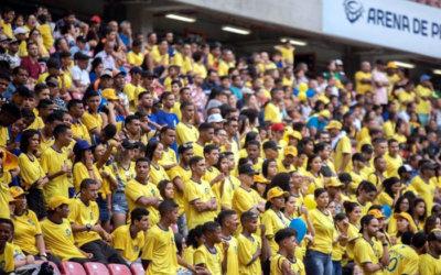 A estreia oficial do Retrô, o 36º clube profissional de Pernambuco na década