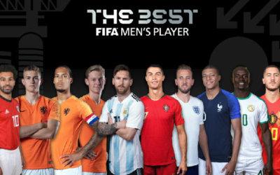 Fifa | Os dez finalistas do prêmio de melhor jogador do mundo em 2019