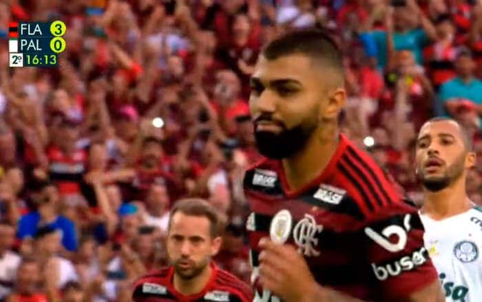 TV | A audiência de Flamengo x Palmeiras, exibido pela Globo em 27 estados