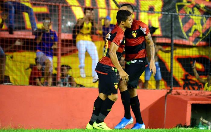 Oscilante, Sport empata com Atlético-GO na Ilha e termina turno no G4